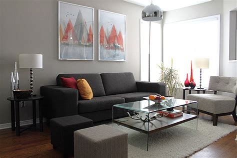 Modernes Wohnzimmer Grau by How To Decorate A Living Room
