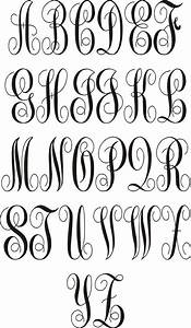 17 best images about monograms on pinterest monogram With decal alphabet letters