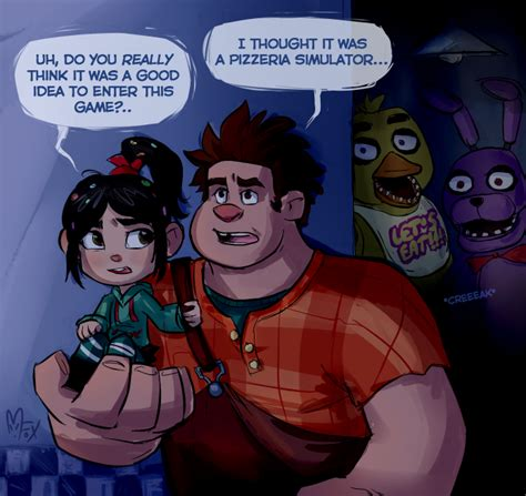 Wreck It Ralph At Freddy 39 S By Mistrel Fox Five Nights At