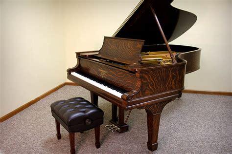 Restored 1901 Steinway Model B Grand Piano | Quarter Sawn Oak