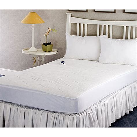 size heated mattress pad warm and cozy plush heated electric king size mattress pad