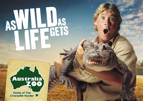 zoo australia steve irwin coast australian legacy ad crocodile facts sunshine marcoola wild english hunter visual aus things goodbye persuasive