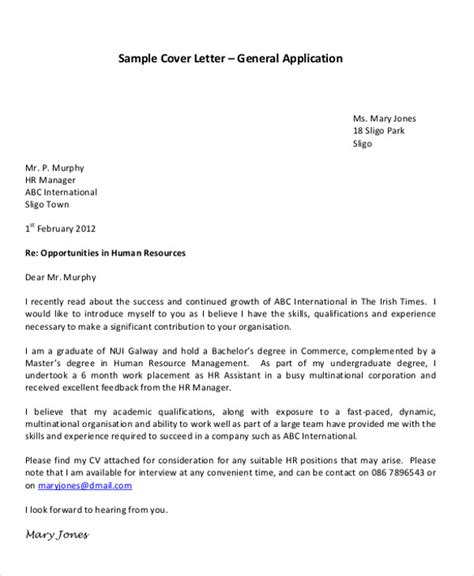 thesis application letter ireland   write  harvard