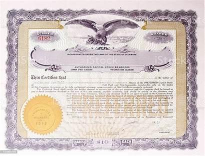 Certificate Company American Certificates Eagle Medallion Illustration