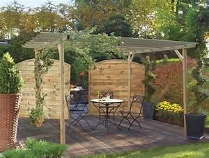 Décoration De Jardin Extérieur : dejeuner au jardin goodidees ~ Dode.kayakingforconservation.com Idées de Décoration
