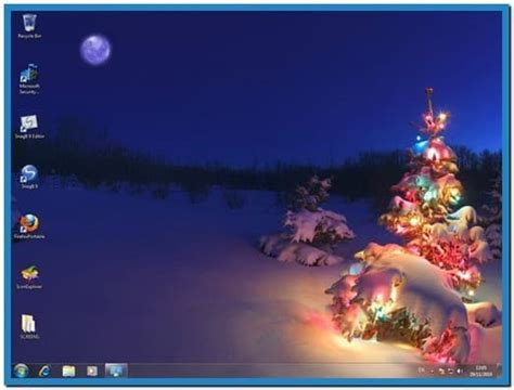 Microsoft Christmas Screensavers Windows 7  Download Free