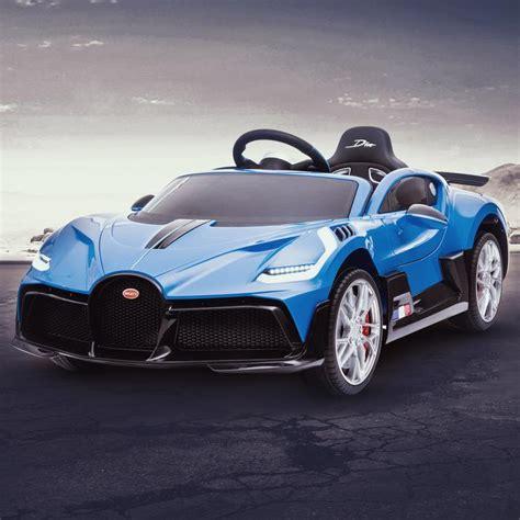 Bugatti presents bugatti divo (2019). Licensed Buggati Divo 12V Battery Electric Ride On Car