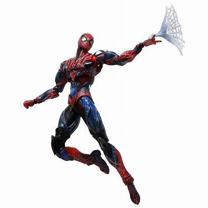Spider Action Figure Marvel Play Arts Kai