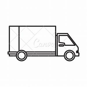 Delivery Truck Icon - Icons by Canva