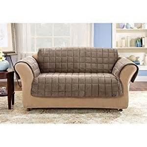 sure fit deluxe sofa pet throw sable amazon co uk