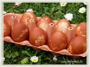 Eier Natürlich Färben : ostereier mit zwiebelschalen f rben ~ A.2002-acura-tl-radio.info Haus und Dekorationen