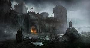 ArtStation - Ruined Fortress, Andrii Shafetov