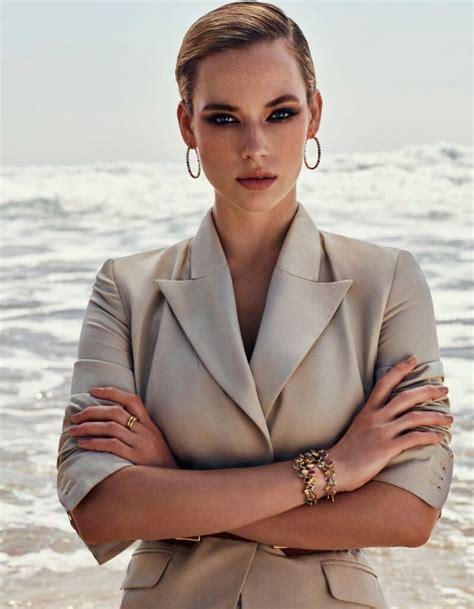 Hannah Ferguson In Vogue Magazine Arabia July 2019