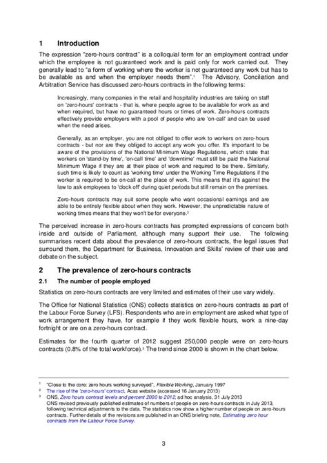 zero hours contracts contract commons introduction
