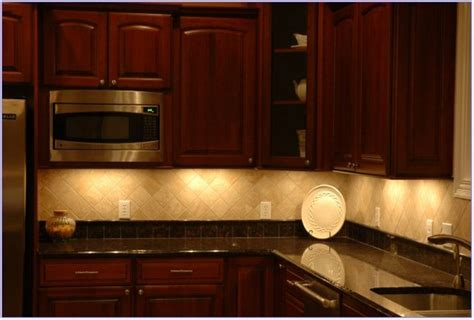 Easy Kitchen Backsplash Ideas - under cabinet lighting benefits and options