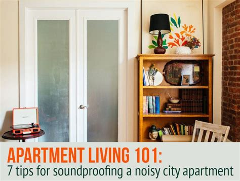 ways  soundproof  noisy apartment sqft