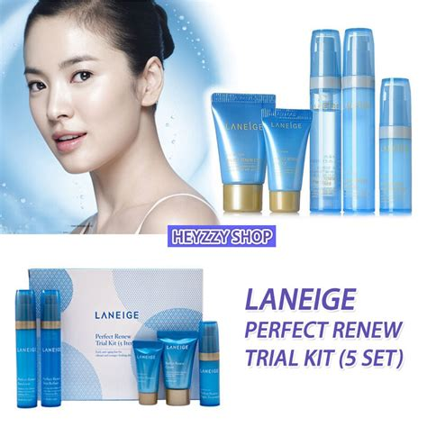 Harga Laneige Renew Trial Kit laneige renew trial kit 5 pcs travel set korea