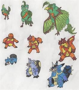 Fan Made Pokemon Starters Related Keywords U0026 Suggestions