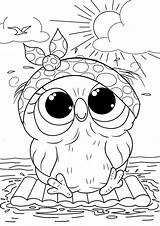 Coloring Owl Printables Cuties Bojanke Coloriage Preschool Tulamama Colouring Slatkice Animals Animal Books Pobarvanke Halloween Dessin Printable Sheets Licorne Bonton sketch template