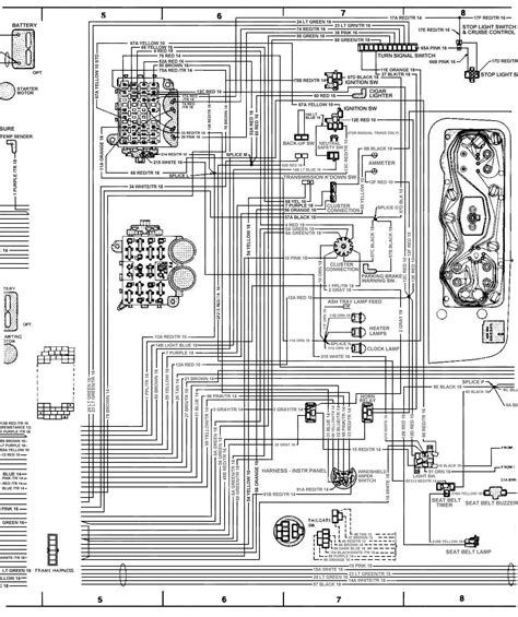 1983 Jeep Cj7 Wiring Harnes Diagram by 1983 Gmc Caballero Wiring Diagram Wiring Library