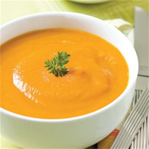 cuisine végé potage crécy au cari recettes cuisine et nutrition