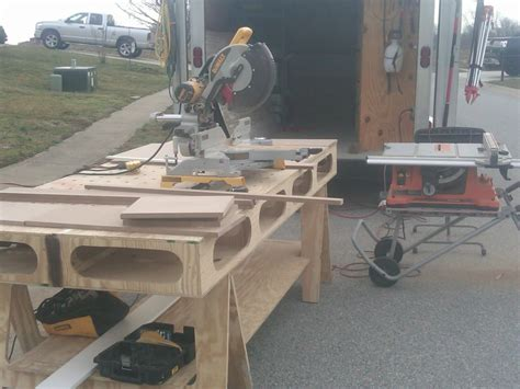 ultimate portable workbench page  tools equipment