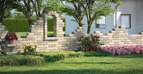 Gartenmauer Ganz Einfach Selber Bauen  Obi Gartenplaner