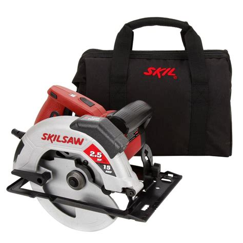 skil 15 amp 7 1 4 in circular saw with laser 5680 02