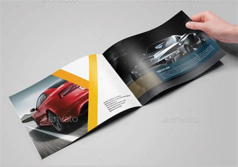Automobile Brochure Design by Car Brochure 25 Free Psd Ai Vector Eps Format
