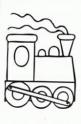 Coloring Pages Caboose Train Popular Locomotive sketch template