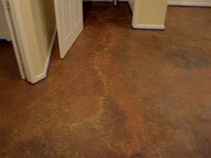 Cool home creations finishing basement faux finished floor for How to finish a concrete basement floor