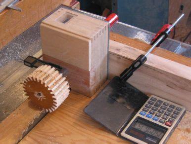 ultimate list  table  jigs wooden gears jet