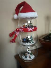 snowman globe diy christmas craft easy all pieces bought at dollar tree used e6000 to glue