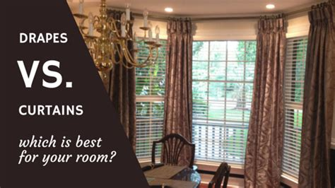 drapes vs curtains drapes vs curtains which one is better wilmington nc