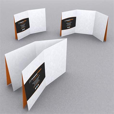 9 Stylish Folder Brochure Folds For Print Designers 9 Stylish Folder Brochure Folds For Print Designers