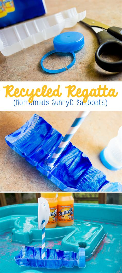 recycled regatta    sailboats   recycled