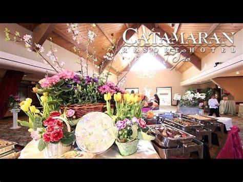 Catamaran Brunch by Easter Brunch At The Catamaran Resort Hotel And Spa Youtube