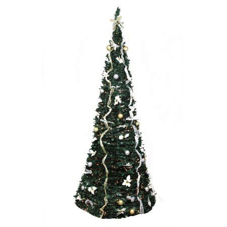 pre decorated pop  artificial christmas tree www