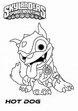 Dog Coloring Pages Colouring Dogs Skylander sketch template