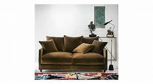 Canapé Velours Ikea : canap velours tendance salon d coration ~ Teatrodelosmanantiales.com Idées de Décoration