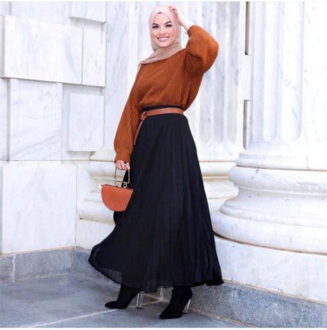 fashion hijab casual remaja simple kekinian selebgram