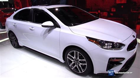 kia forte  exterior interior walkaround debut