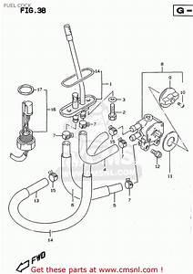 Suzuki Rf900r 1996  T   E02 E04 E18 E22 E24 E25 E34 E37