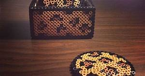 Leopard Gecko Chart Leopard Coasters With Box Perler Beads By Sajagee P