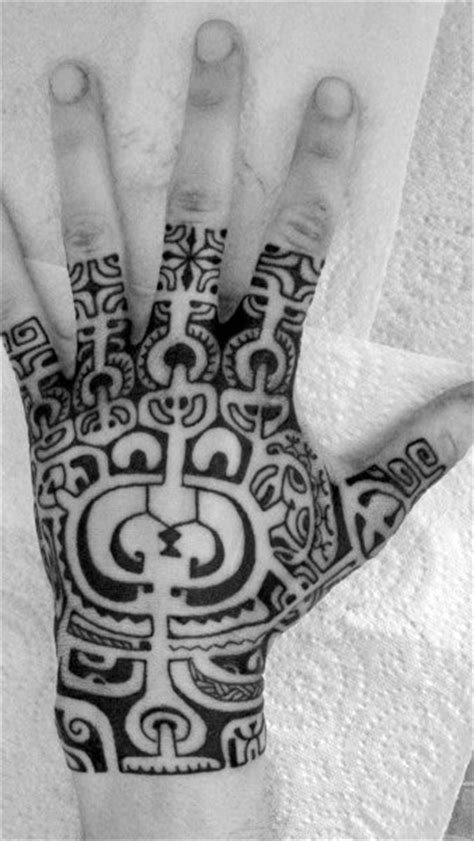 Top 41 Tribal Hand Tattoo Ideas - [2020 Inspiration Guide]