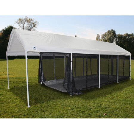 king canopy    ft black canopy screen room  floor walmartcom
