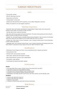 resume for grocery store clerk grocery clerk resume sles visualcv resume sles database