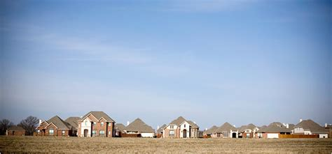 slowdown hits towns  outskirts  texas boom