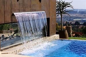 Lame D Eau Bassin : 1001 mod les spectaculaires de piscine avec cascade ~ Premium-room.com Idées de Décoration