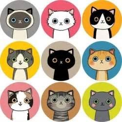 cat stickers tofucandy sticker kawaii